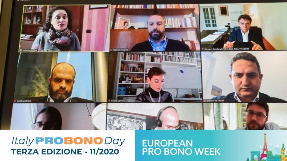 Italy Pro Bono Day – Terza Edizione